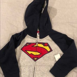 Super man sweatshirt